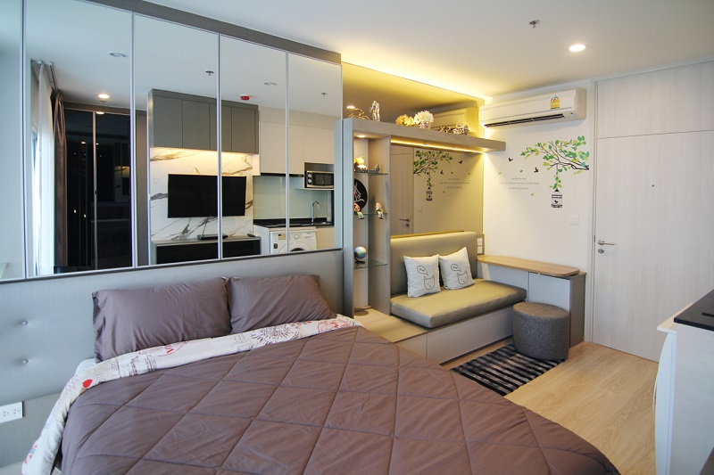 Noble Revolve Ratchada (Ref:10265) For Rent 14,000baht