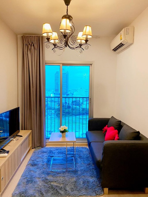 Noble Revolve Ratchada (Ref:10920) For Rent 15,000baht